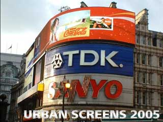 Urban Screens 2005