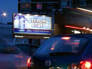 Magink billboard (Holland Park, London)
