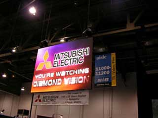 New models of LED screens by Mitsubishi