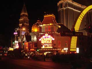 "Media façade of casino ""Royale"" in Las Vegas"