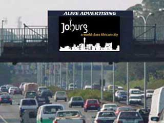 Video LED screen at M1 South