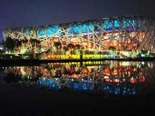 "Olympic stadium – ""Bird's Nest"" LED lighting"