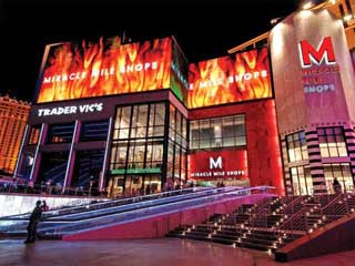 Miracle Mile Shops LED媒体立面