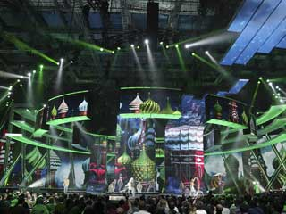 "LED stage decor at ""Eurovision 2009"""