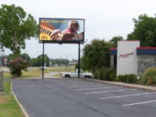 LED digital billboard in Ardmore in Oklahoma