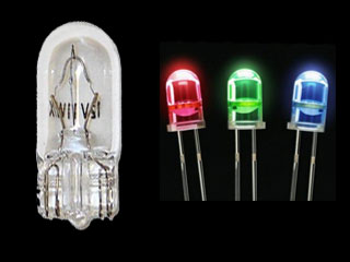 Automotive light bulb 1250X and LEDs