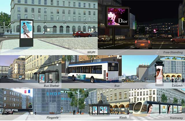 JCDecaux creation tool in outdoor advertising