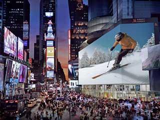 Один из самых больших в мире цифровых билбордов