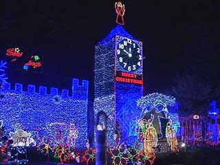 The winner of the Great Christmas Light Fight 2014