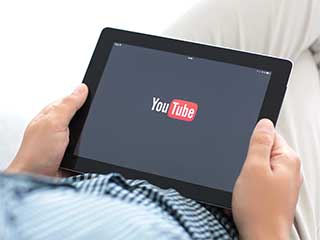 Youtube sur la tablette