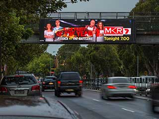 APN Outdoor LED Screen with Pixel Pitch 6.67 mm in Sydney
