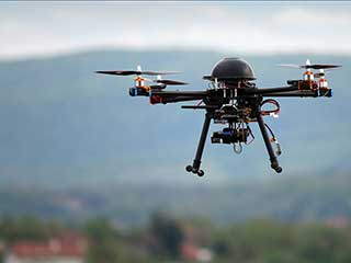IoT, Drones and Wireless Video Surveillance