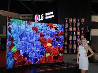 Señalización digital del LG OLED