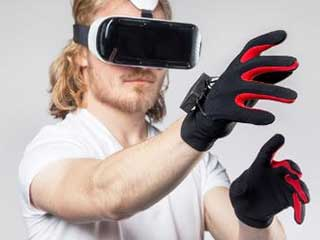 Virtual Reality Headgear and Gloves