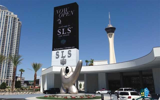 Las Vegas SLS LED screen