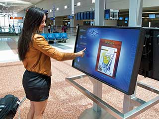 NEC Interactive Display at MacCarran Airport