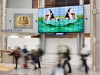Samsung Video Wall at MacCarran Airport