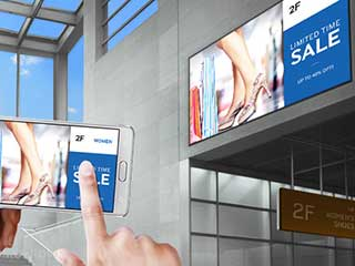 Samsung intelligente Digital Signage