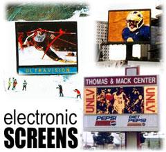 большие электронные экраны табло панно для спортивных стадионов и шоу